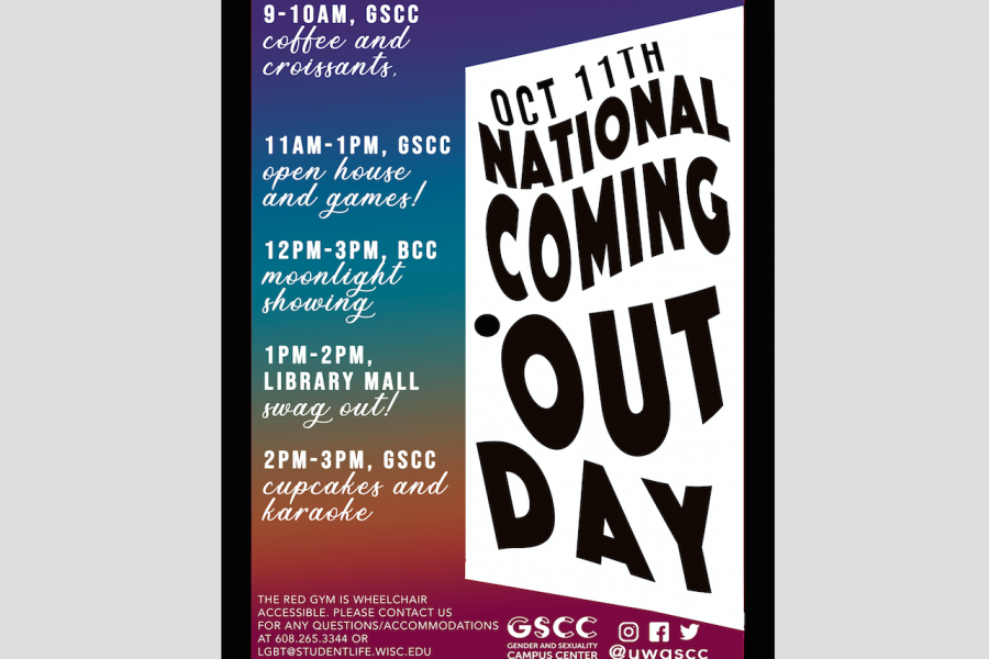 NCOD flyer featuring a large door