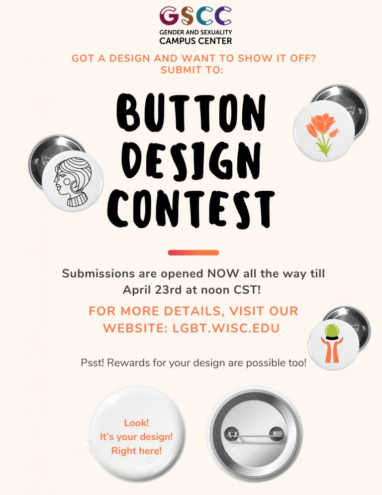 Button contest flyer with same info as this page